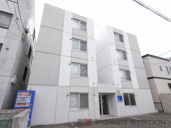 札幌市東区北39条東17丁目0賃貸マンション外観写真