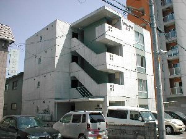 札幌市東区北23条東1丁目0賃貸マンション外観写真