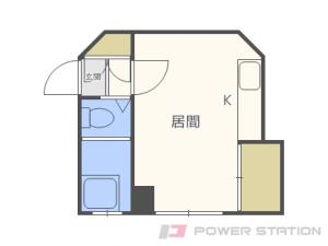 札幌市東区北22条東1丁目1賃貸アパート間取図面