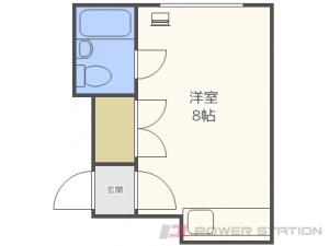 北24条1Rマンション図面