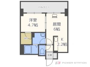 札幌市東区北9条東3丁目0賃貸マンション間取図面
