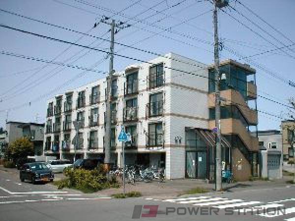 札幌市東区北21条東6丁目1賃貸マンション外観写真