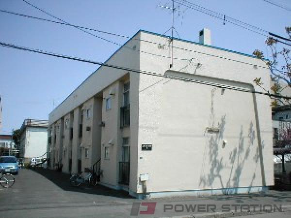 札幌市東区北22条東6丁目1賃貸アパート外観写真