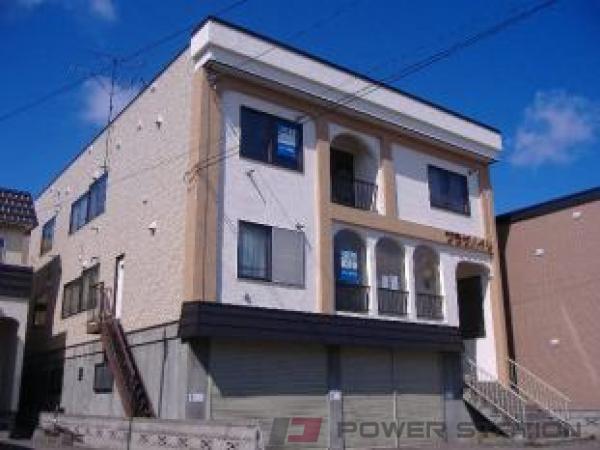 札幌市東区北19条東8丁目0賃貸アパート外観写真