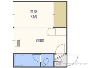 札幌市東区北19条東8丁目0賃貸アパート間取図面