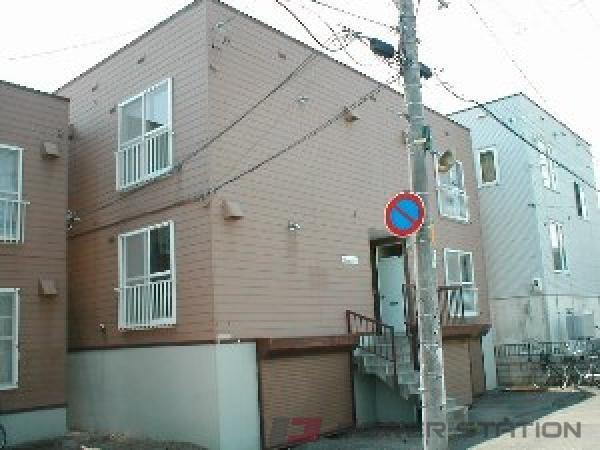 札幌市東区北19条東9丁目0賃貸アパート外観写真