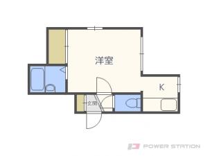札幌市東区北19条東12丁目0賃貸アパート間取図面