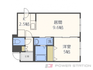 札幌市東区北18条東17丁目11賃貸マンション間取図面