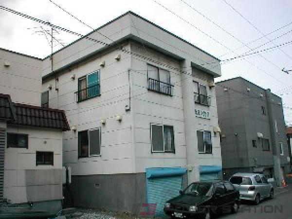 札幌市東区北19条東21丁目0賃貸アパート外観写真