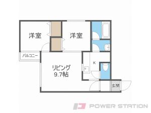 札幌市東区北36条東1丁目1賃貸マンション間取図面