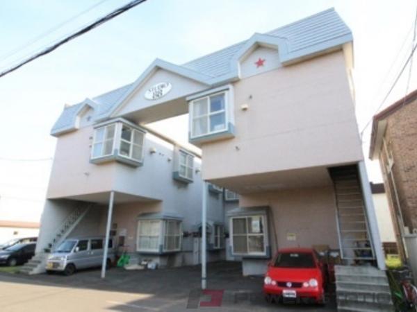 札幌市東区北20条東18丁目0賃貸アパート外観写真