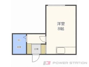 札幌市東区伏古4条2丁目0賃貸マンション間取図面