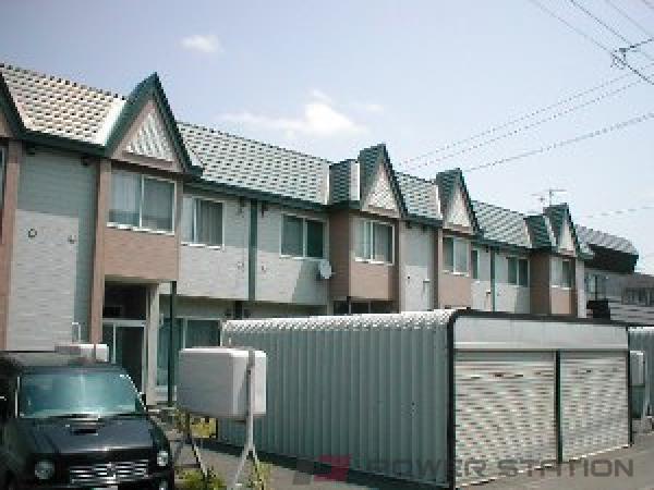 札幌市東区伏古5条5丁目0テラスハウス外観写真