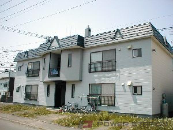 札幌市東区東苗穂5条2丁目0賃貸アパート外観写真