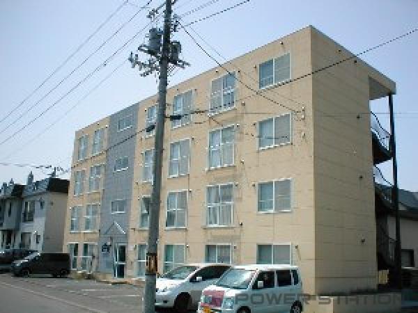 札幌市東区東苗穂5条2丁目0賃貸マンション外観写真
