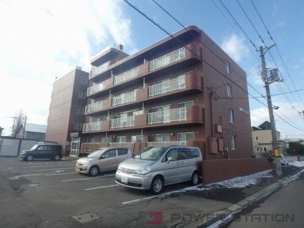 札幌市東区東苗穂5条3丁目0賃貸マンション外観写真