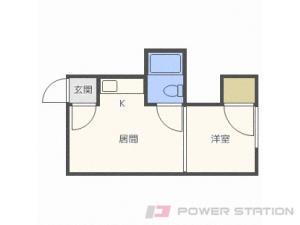 札幌市東区北24条東3丁目1賃貸アパート間取図面