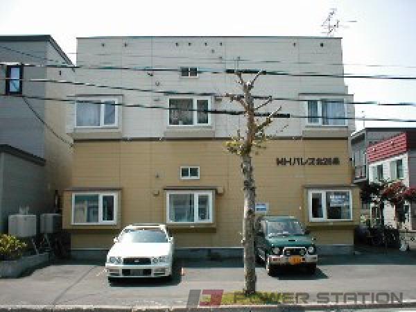 札幌市東区北26条東2丁目1賃貸アパート外観写真