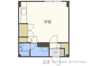元町1Rマンション図面