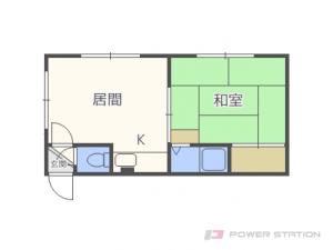 札幌市東区北22条東9丁目0賃貸アパート間取図面