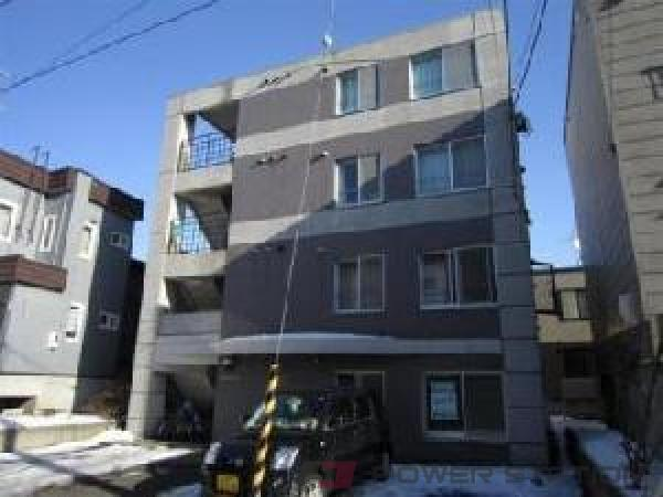 札幌市東区北21条東12丁目1賃貸マンション外観写真