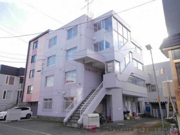 札幌市東区北21条東18丁目0賃貸マンション外観写真