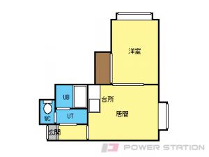 札幌市東区伏古8条3丁目0賃貸アパート間取図面