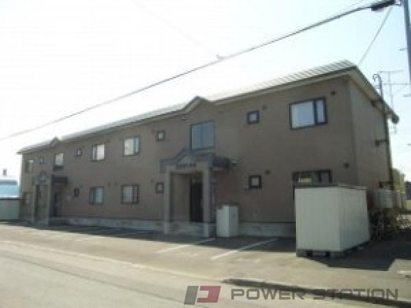 札幌市東区東苗穂6条3丁目0賃貸アパート外観写真