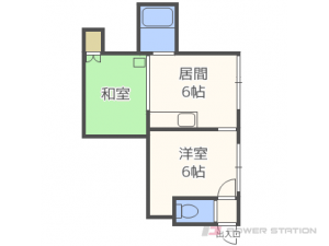 札幌市東区北26条東2丁目0賃貸アパート間取図面