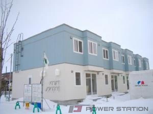 札幌市東区東雁来9条2丁目1テラスハウス外観写真
