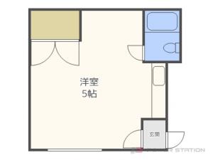 札幌市東区北27条東1丁目1賃貸アパート間取図面