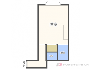 札幌市東区北28条東1丁目1賃貸アパート間取図面