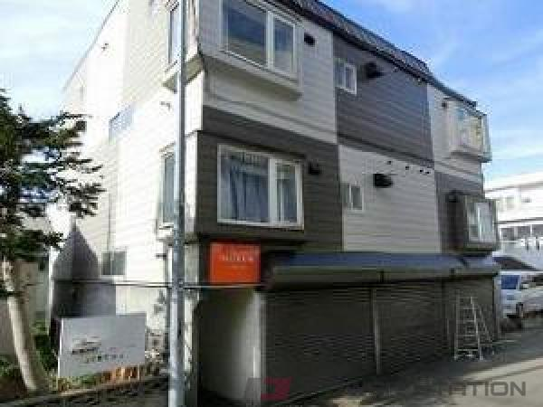 札幌市東区北31条東1丁目0賃貸アパート外観写真