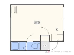 北24条1Rアパート図面