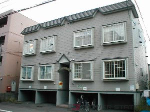 札幌市東区北26条東10丁目0賃貸アパート外観写真