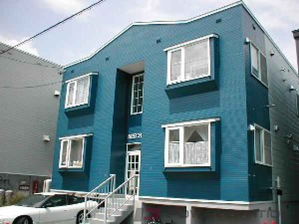 札幌市東区北28条東9丁目0賃貸アパート外観写真