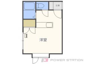 札幌市東区北28条東9丁目0賃貸アパート間取図面