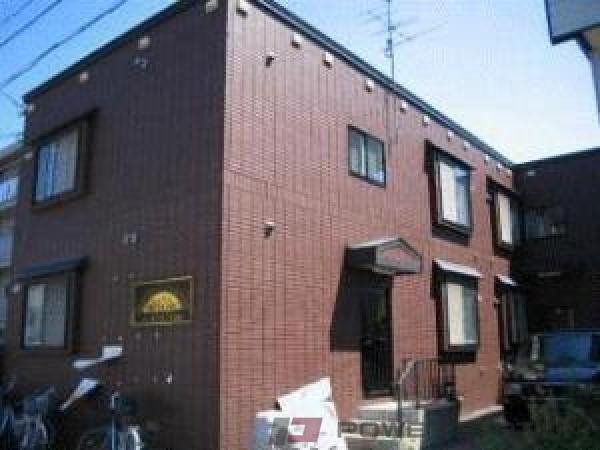 札幌市東区北25条東12丁目1賃貸アパート外観写真