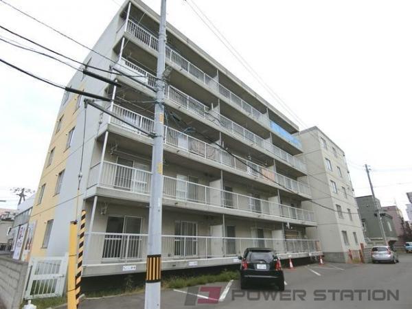 札幌市東区北25条東12丁目0賃貸マンション外観写真