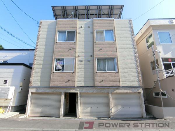 札幌市東区北24条東14丁目0賃貸アパート外観写真