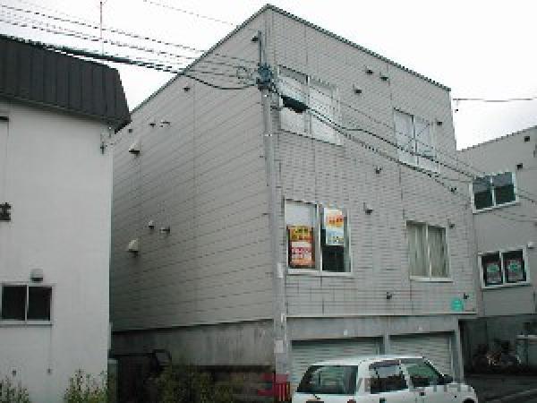 元町1Kアパート外観