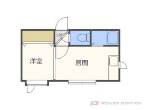 札幌市東区北24条東21丁目0賃貸アパート間取図面