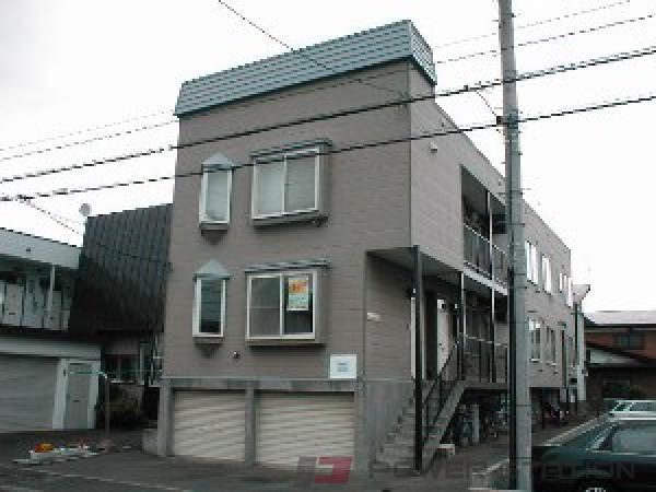 札幌市東区北25条東22丁目0賃貸アパート外観写真