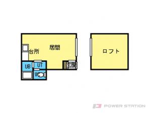 元町1Rアパート図面