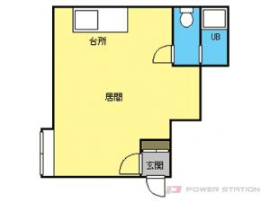 札幌市東区北25条東22丁目0賃貸アパート間取図面