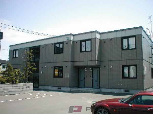 札幌市東区東苗穂6条1丁目0賃貸アパート外観写真