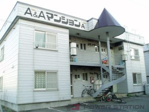 札幌市東区東雁来8条1丁目0賃貸アパート外観写真