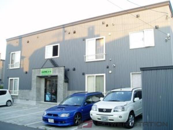 札幌市東区東雁来9条1丁目0賃貸アパート外観写真