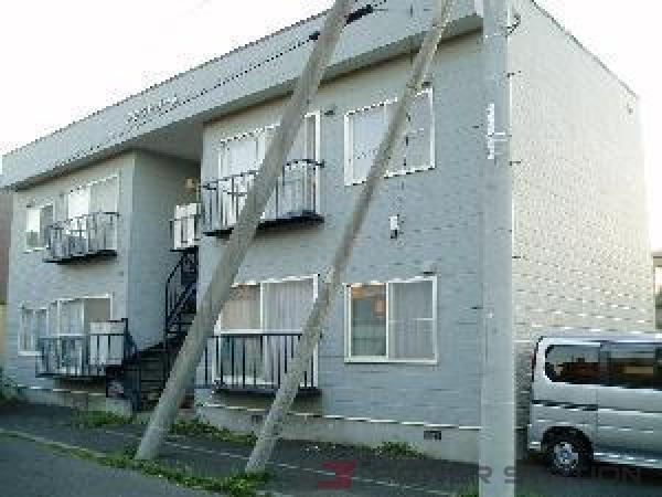 札幌市東区東雁来9条2丁目0賃貸アパート外観写真