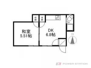 札幌市東区北31条東8丁目0賃貸アパート間取図面
